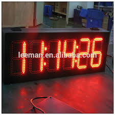 switch led light timer days led countdown clock led timer sports