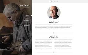 download premium resume website templates for the personal