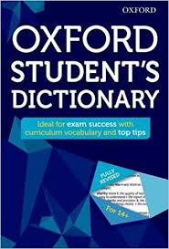 Oxford Dictionary Oxford Student S Dictionary Oxford Dictionaries 9780192742391