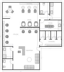 Small Hair Salon Modern White Salon Floor Plan 1 Only Change The Facial Into A Nail Room Or
