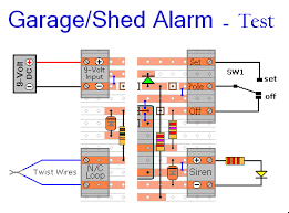 garage shed alarm testing your finished circuit board