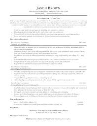 maintenance technician resume best of resume for maintenance technician articlesites info