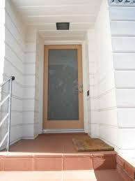 personalized front door concept design featuring halloween
