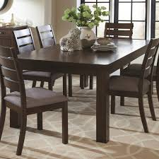 coaster 106361 rustic pecan finish dining table with rough sawn planks