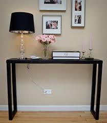 foyer table ideas entry table what if i painted ours blueyou 70