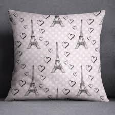 Eiffel Tower Bed Set Pink Dot Love Paris Eiffel Tower Duvet Bedding Sets Ink And Rags