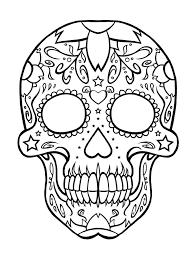 sugar skull by drawing at getdrawings com free for