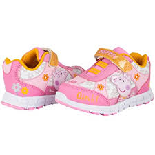 size 5 light up shoes amazon com peppa pig light up sneaker girls shoe sneakers