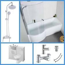 Vanity Bathroom Suite by Shower Bath Vanity Bathroom Suites With Taps Ebay