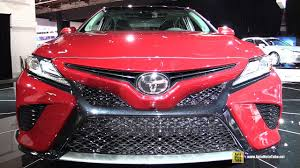 toyota around me 2018 toyota camry xse exterior and interior walkaround debut