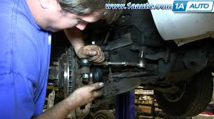 how to install replace steering outer tie rod 1998 04 nissan