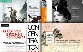 magazine layout inspiration gallery inspirational and attractive magazine page layouts
