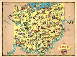 Ohio world traveller images Best 25 map of ohio ideas florida license plates jpg