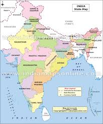 map all districts of india district map of india