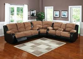 square black luxury iron pillow sectional sofas recliners cup