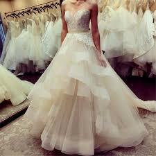 discount 2017 cascading ruffles plus size wedding dresses a line