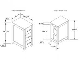 Bathroom Cabinet Height Neoteric Design Inspiration Vanity Sizes Standard With Superb