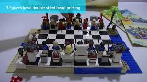 best lego chess set ever wb review pirate chess set 40158 youtube