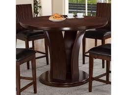 Contemporary Bar Table Daria Contemporary Pub Table With Pedestal Base Belfort
