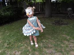 Snowy Owl Halloween Costume by I Got Plenty Of Nothing Little Owl