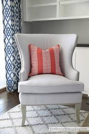 fall and chairs in the formal living room the sunny side up blog coral greek key pillow