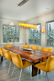 Yellow Dining Chair Dining Chairs For Cozy Luxurious Or Bold Dining Spaces
