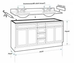 Standard Bathroom Vanity Dimensions Standard Kitchen Sink Size How To Measure For Kitchen Sink