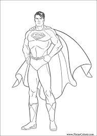 drawings paint u0026 colour superman print design 002