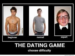 Meme Dating - the dating game choose difficulty weknowmemes