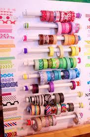 diy washi tape organizer home design ideas