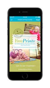 photo affections free prints freeprints mobile app optimized for ios 8 takes advantage of