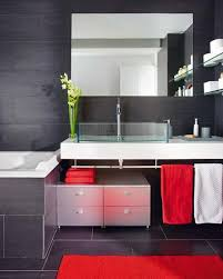 Purple Bathroom Curtains Purple And Black Bathrooms Two Support Simple Sink Corner Pretty