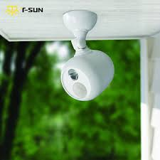 Wireless Outdoor Lighting - t sunrise outdoor lighting led spotlight a motion sensor led wall
