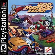 amazon woody woodpecker racing video games