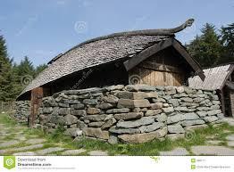 viking long house stock image image 989771
