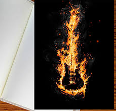 photoshop tutorial blazing fire sketch effects photoshop