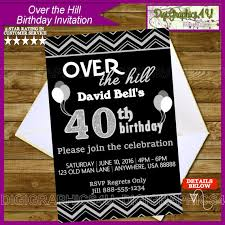 over the hill birthday invitation personalized by digigraphics4u