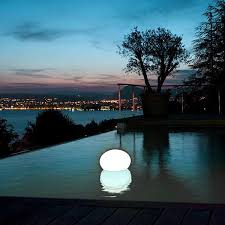 floating pool ball lights flatball floating pool light by smart green sg flat ball zap