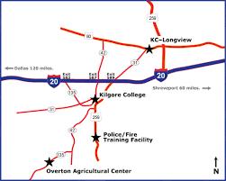 kilgore map maps locations kilgore
