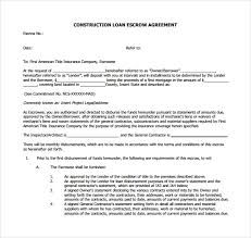 sample escrow agreement 9 documents in pdf