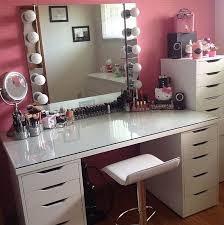 Ikea Mirror Vanity Best 25 Ikea Makeup Vanity Ideas On Pinterest Vanity Desk Diy