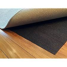 How Big Should A Rug Pad Be Amazon Com Non Slip Area Rug Pad Size 6 X 9 Extra Strong Grip