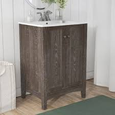 Bathroom Vanities Wayfair Weathered Oak Vanity Wayfair