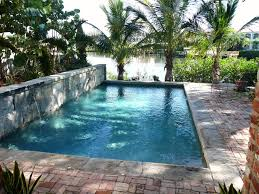 pool garden ideas landmark pools garden pool with old tampa granite curbing for