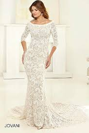 Wedding Dress Sub Indonesia White And Floor Length Lace Gown With A Thigh High Slit