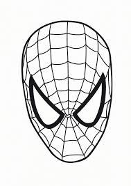 free spiderman coloring pages print 457030