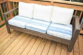 Make Your Own Outdoor Wooden Table by Build Your Own Outdoor Sofa And Loveseat The Handyman U0027s Daughter