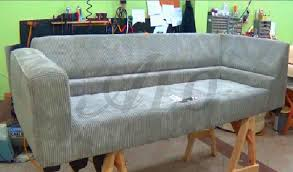 How To Make Sofa Covers How To Make A Removable Arm On A Sofa Alo Upholstery Youtube