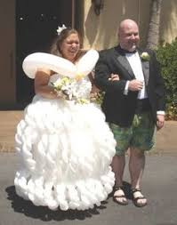disgusting wedding dresses the search for the ugliest wedding dress created