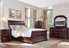 affordable bedroom set dumont cherry 5 pc king sleigh bedroom 1 450 00 find